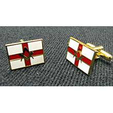G448 Cufflinks - S&c On St George Flag